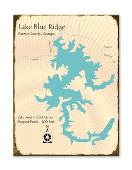 Lake blue ridge marina for Lake blue ridge fishing